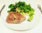Tuna Steak with salad